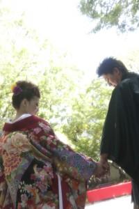 福岡 友泉亭 前撮り ロケ撮 結婚準備 マタニティ花嫁 0358