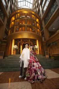 福岡 フォトスタジオ 結婚式の写真 オシャレなアルバム 前撮り ロケ撮 安い かっこいい ウエディングアルバム 0358