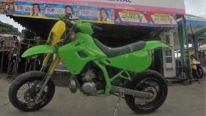 Rent a off road motorbike in Bohol