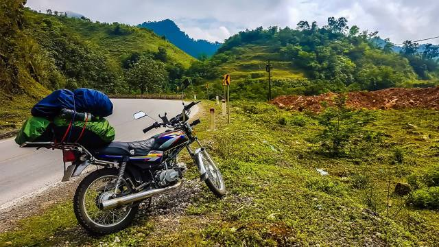 Hanoi motorbike rental