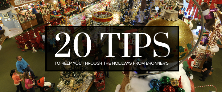 20 Tips To Help You Through The Holidays!
