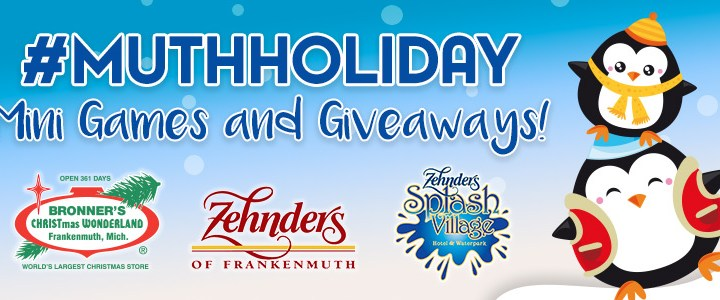 Your #MuthHoliday Giveaway Is Back From Bronner's And Zehnder's!