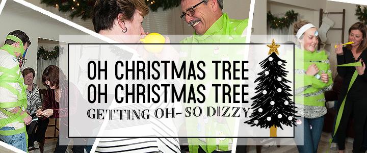 """""""Oh Christmas Tree"""" Christmas Game"""