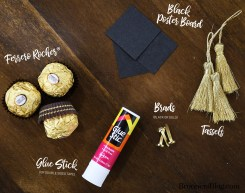 Ferrero Rocher Chocolate DIY Graduate Supplies