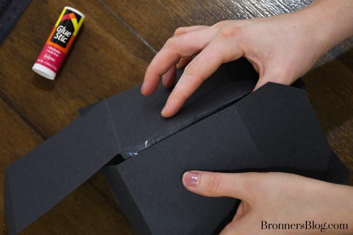 fold and seal DIY Graduation Gift Box