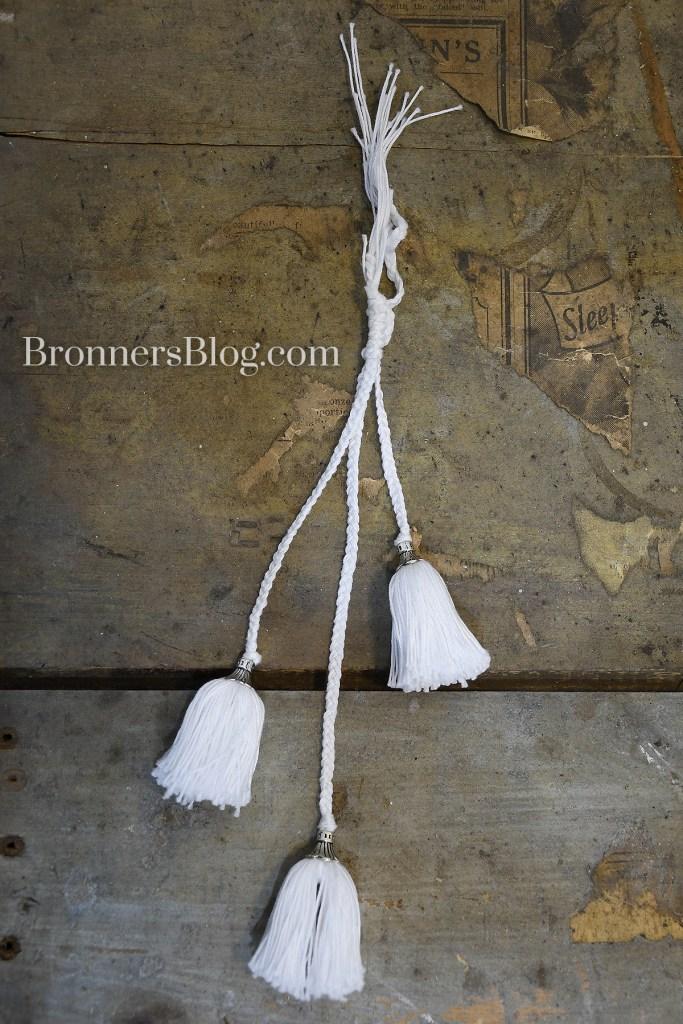 tassel dangle ornament