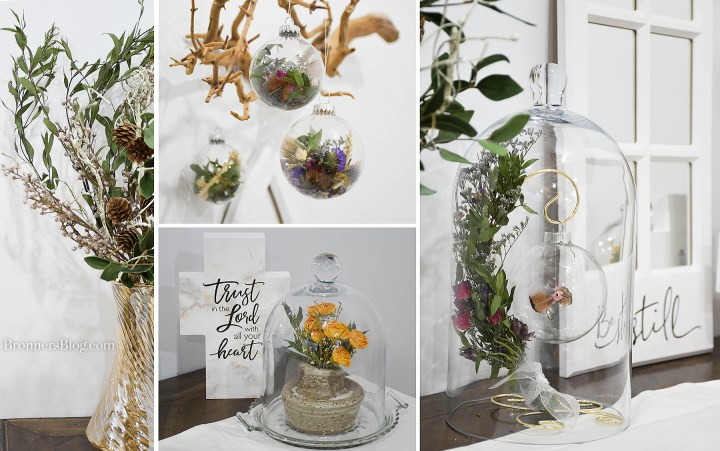 Dried flower decorating ideas