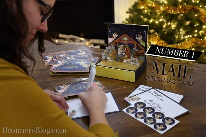 Christmas Nativity Pop-Up Card