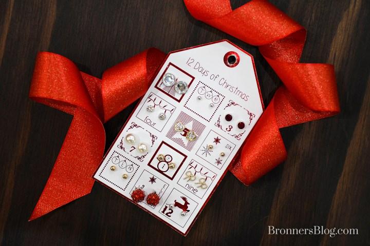 12 Days Of Christmas Earrings Gift Set