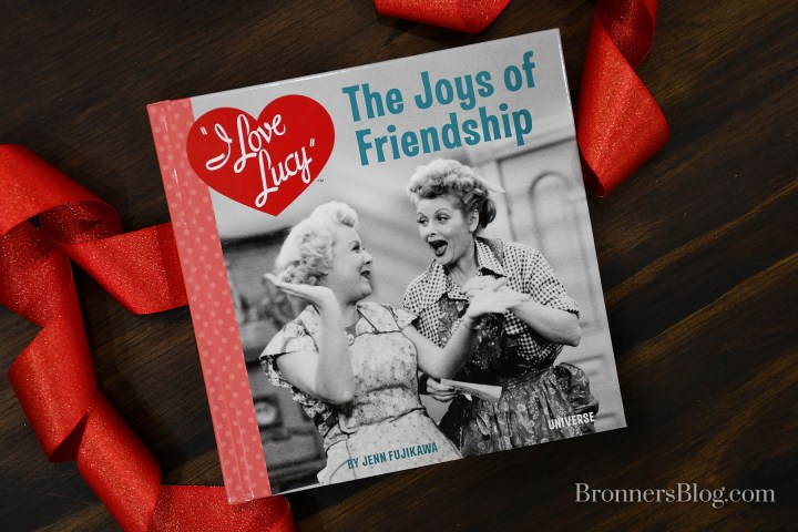 """I Love Lucy, """"The Joys Of friendship"""" Inspirational Book."""