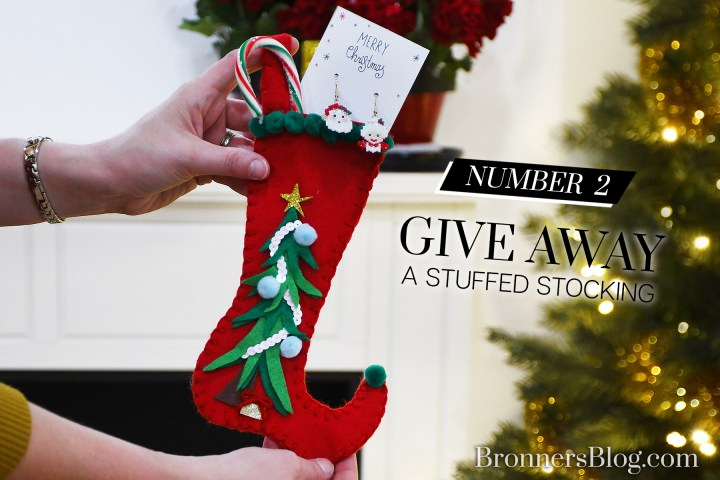 DIY Mini Christmas Stocking For Gift-Giving