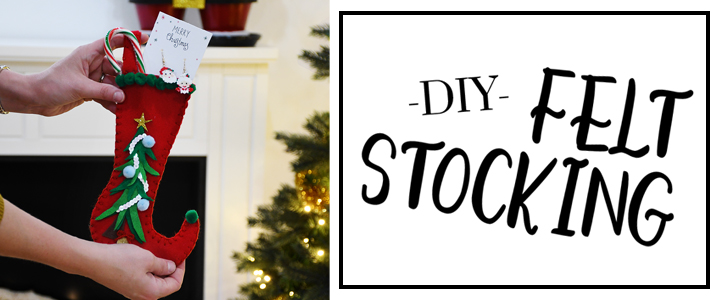 DIY Mini Felt Stocking