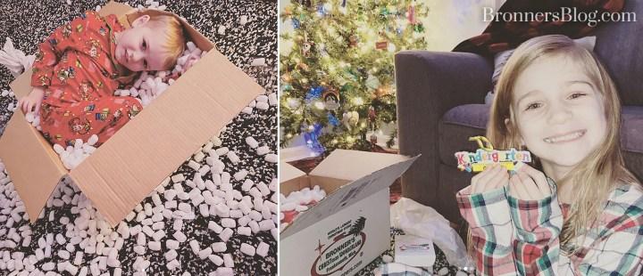 Bronner's box brings fun
