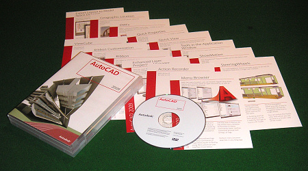 AutoCAD 2009 Packaging