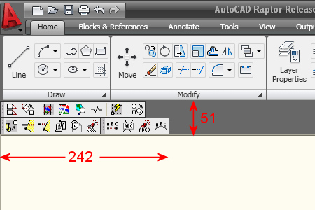 AutoCAD 2009 Docked Toolbars Suggestion