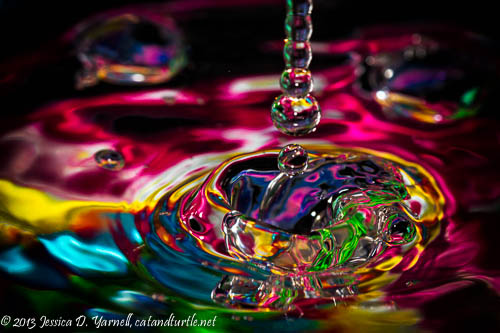 Water Beads - colorful water droplets