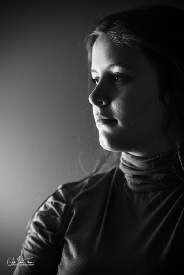 Clair Obscur, travail de portrait