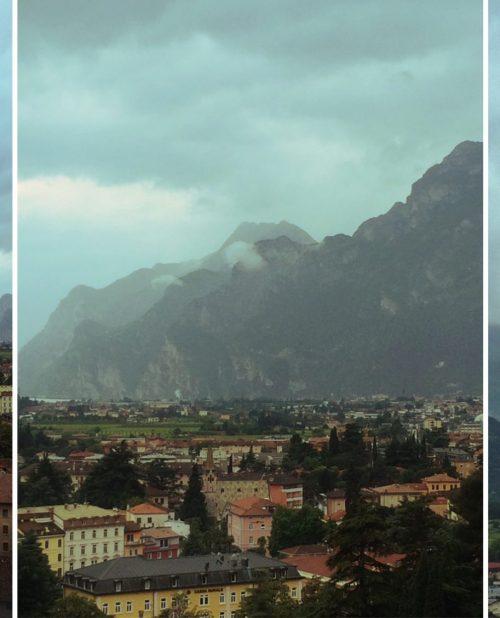 Storm over Arco at Lake Garda, Italy