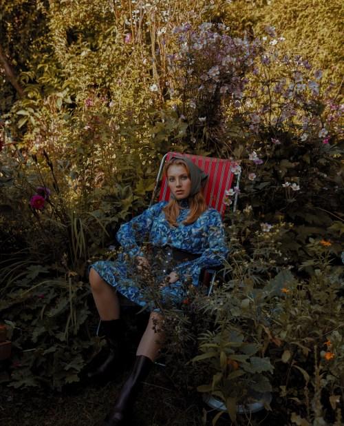 Secret Garden Editorial for L'Officiel by Christine Polz