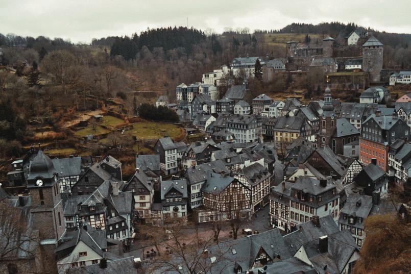 Monschau Panoramawanderung Tagesausflug Nordrhein-Westfalen