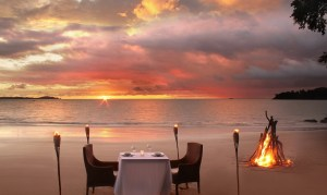 Isla Palenque Amenities Private Beach Dining -low res 2