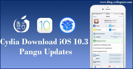 Cydia Download iOS 10.3