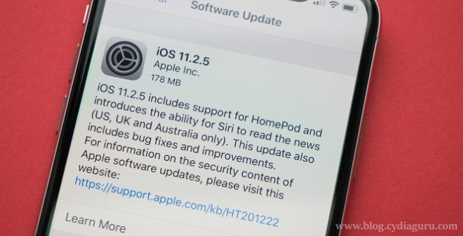 download iOS 11.2.5