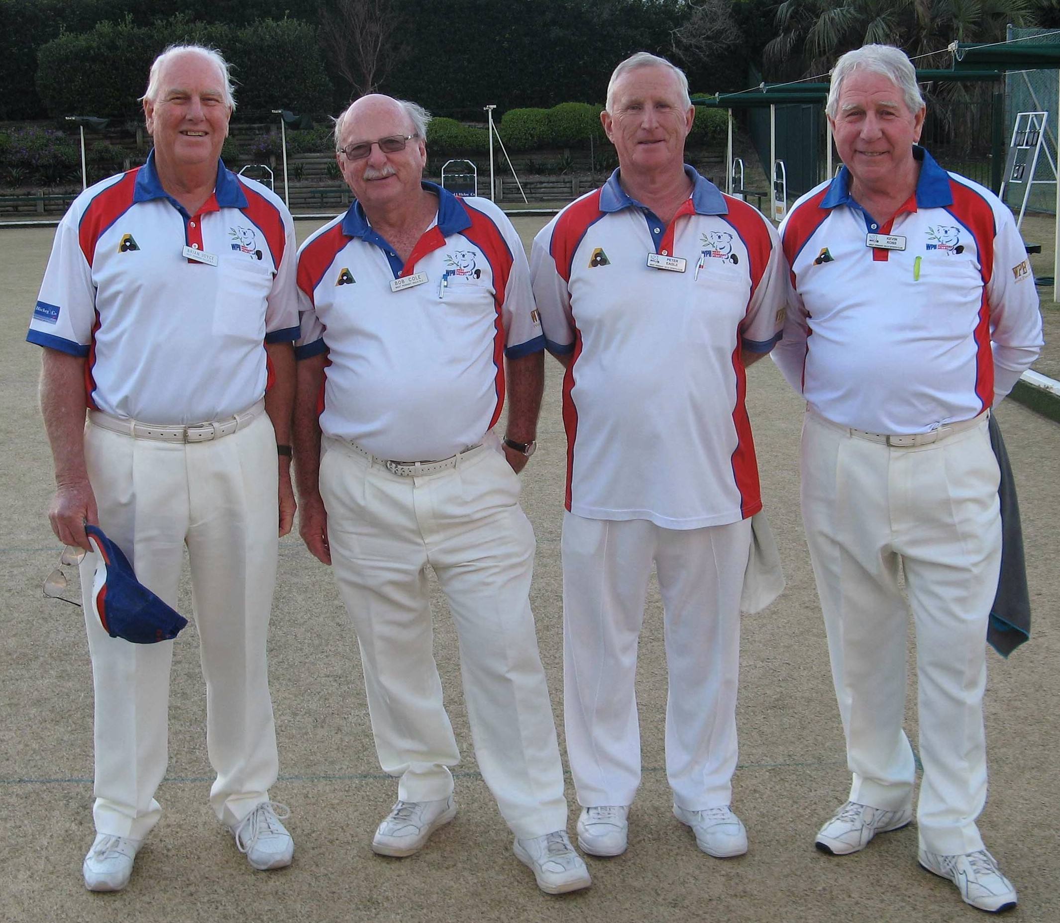 Contestants in 2013 Mens Major Pairs Final at West Pennant Hills