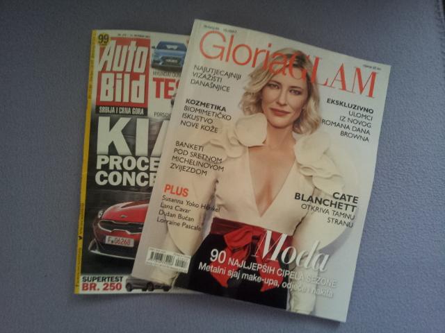 Čitate li dnevnu štampu, magazine, razne časopise?
