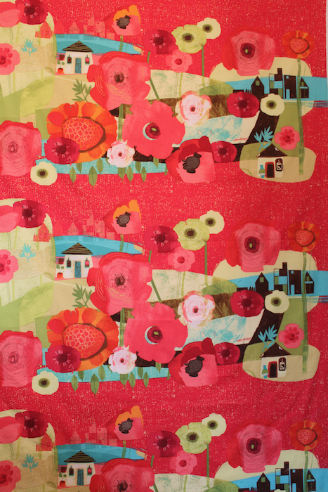 Always blooming fabric by Susy Pilgrim Waters