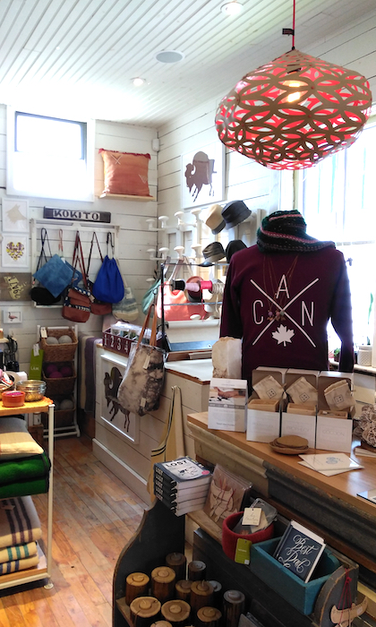 lamps, hoodies, bags handmade in canada available in Kokito a shop in southern ontario
