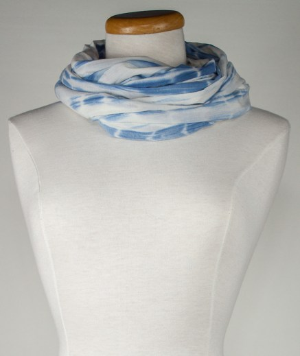 twisted voile cotton scarf perfect for any outfit