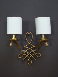 50's French Wall Lights