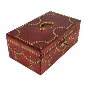 Red Leather Box