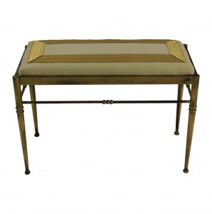 Gilt Brass Stool
