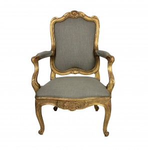 Gilt Wood Armchair