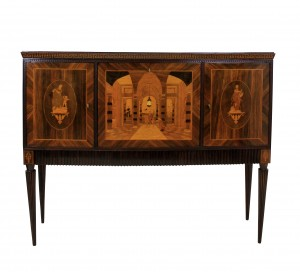 Classical Bar Cabinet