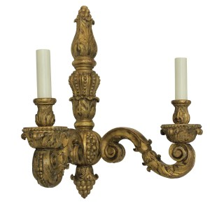Gilt Wood Sconce