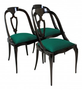 Paolo Buffa Dining Chairs