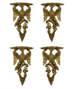 Giltwood Wall Brackets