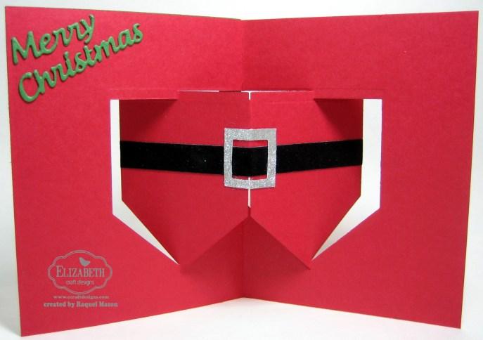 ECD House Pivot Santa Suit open