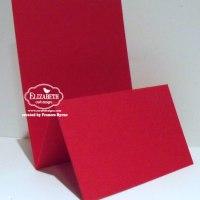 Upright Z Fold Cards