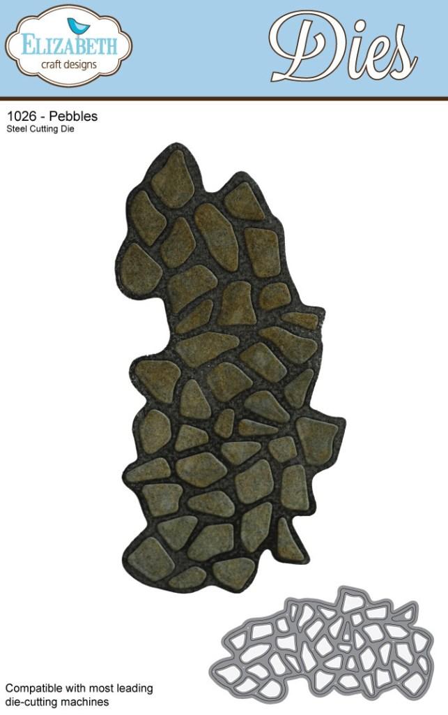 Elizabeth Craft Designs - Pebbles (1026)