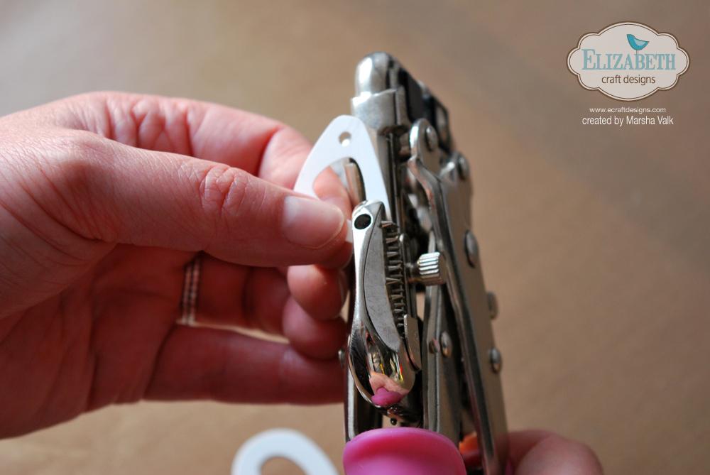 Marsha Valk | Elizabeth Craft Designs: Simple Shrinky Jewelry Step 3