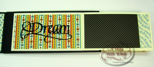 Elizabeth Craft Designs Suzanne Cannon Summer Graphic 45 mini album summer Mother Goose Kathy Jo Wood 9