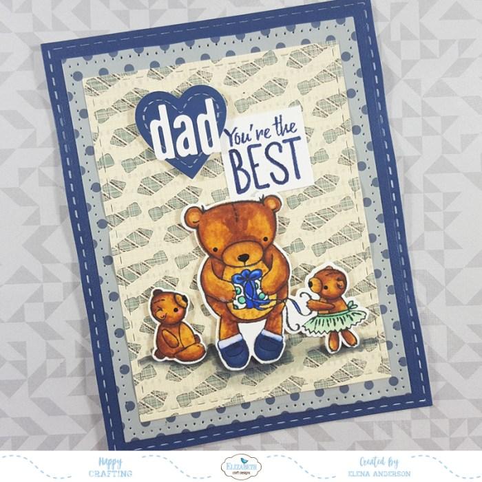 Teddy Bear Father's Day Card
