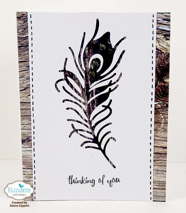 Negative Die Cut Card by Sanna Lippert