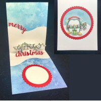 A Cute Penguin Card With A Surprise Inside!