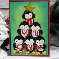 A Penguin Christmas Tree