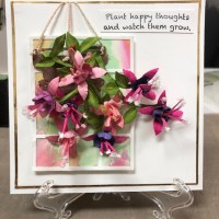 Planting Happy Thoughts With The Fuchsia!